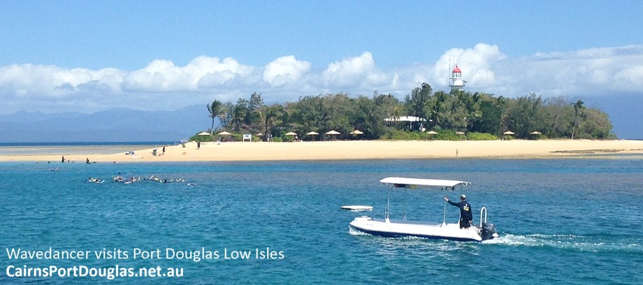 Low Isles off Port Douglas- excellent snorkeling for all the family