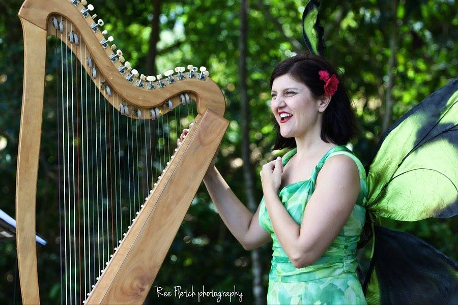 Harp wedding music in Port Douglas
