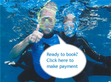 Click here to make shuttle or reef tour payment